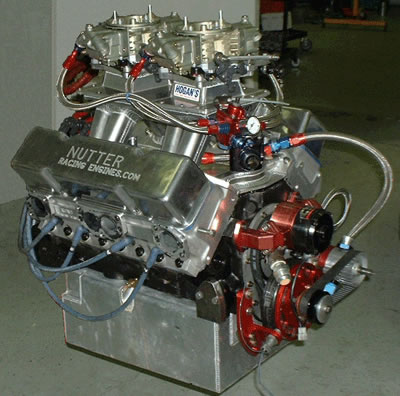 Nutter Racing Engines live in the winner's circle