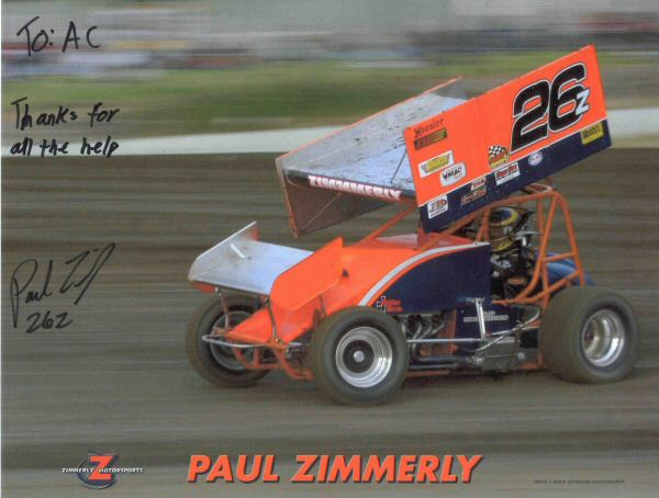 Paul Zimmerly's NRE-engined dirt sprinter